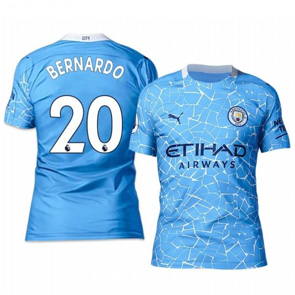 Manchester City Bernardo Silva home football jersey 2020/21