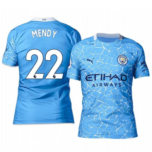 Manchester City Benjamin Mendy home football jersey 2020/21